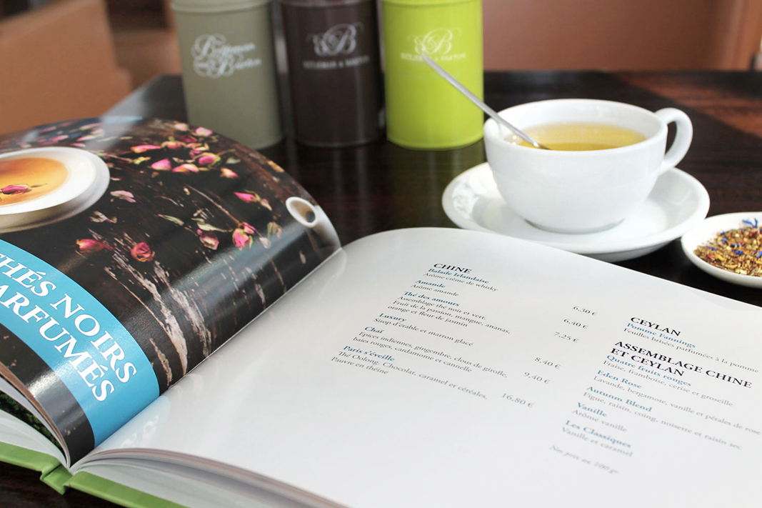 Tea and Eat: tea menu